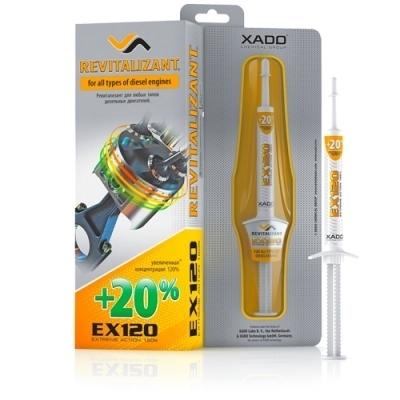 Гель для дизельного двигателя EX120 8мл XADO XA10034