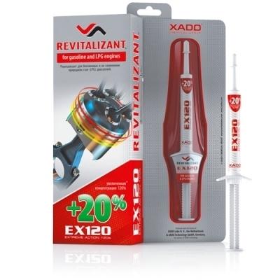 Гель для бензинового двигателя EX120 8мл XADO XA10035