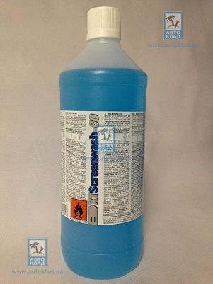 Жидкость омывателя зимняя концентрат -80°C 1л XT SCREENWASH801L