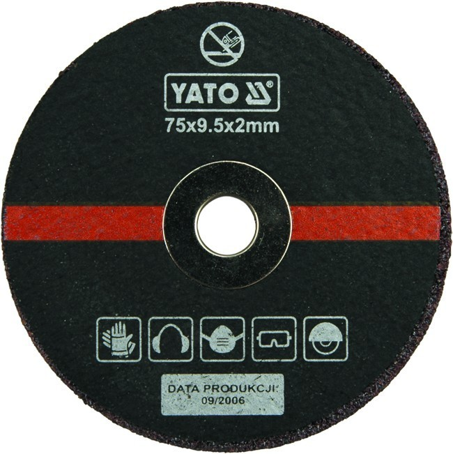 Круги отрезные 5шт YATO YT0994