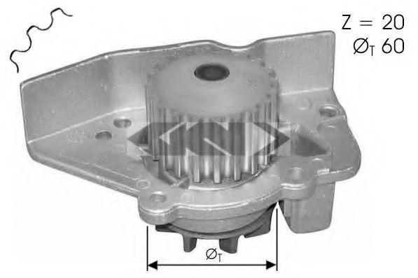 Водяной насос SPIDAN 60201
