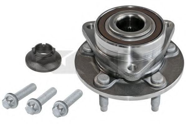 Комплект подшипника ступицы колеса SPIDAN 72073