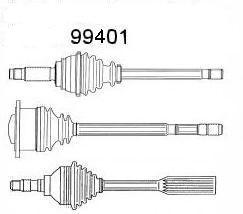 Сервис срочного ремонта, шарнир приводной вал SPIDAN 99401