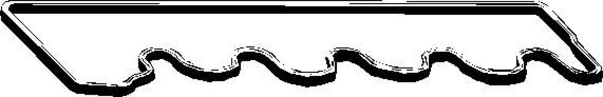 Прокладка клапанной крышки ELRING 237868