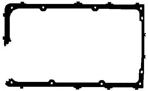 Прокладка, крышка головки цилиндра ELRING 764248