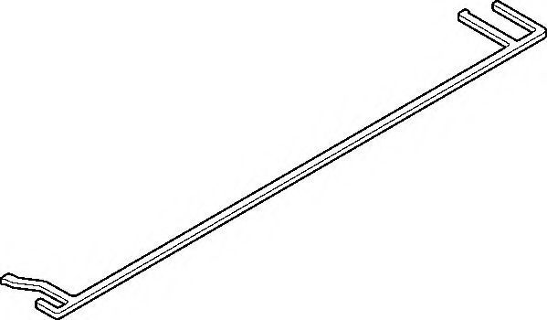 Прокладка клапанной крышки ELRING 050270