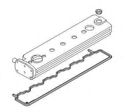 Прокладка клапанной крышки комплект ELRING 075.520