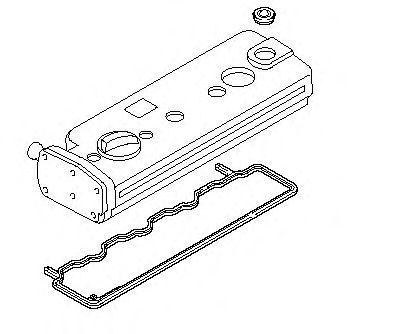 Прокладка клапанной крышки комплект ELRING 136.960