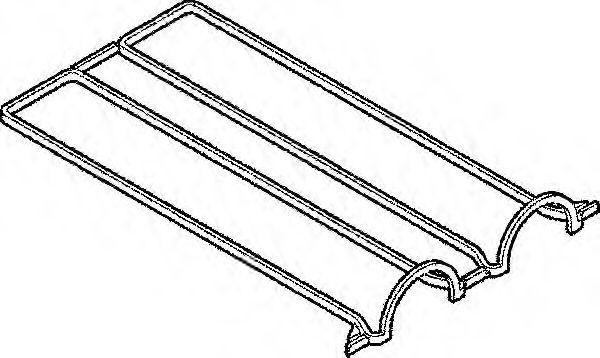 Прокладка, крышка головки цилиндра ELRING 389110