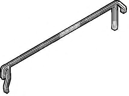 Прокладка клапанной крышки ELRING 213080