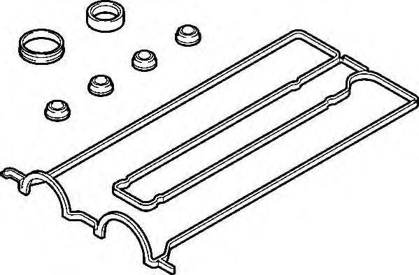 Комплект прокладок, крышка головки цилиндра ELRING 569790