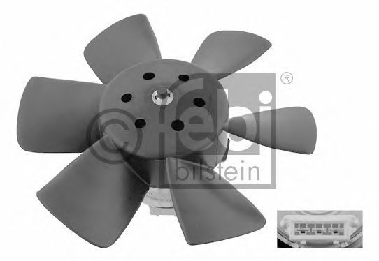 Вентилятор радиатора FEBI 06990