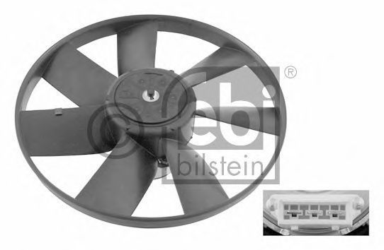Купить Крыльчатка вентилятора FEBI 06993