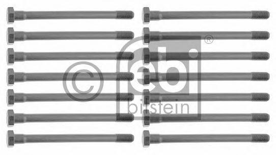 Комплект болтов головки цилидра FEBI 12609