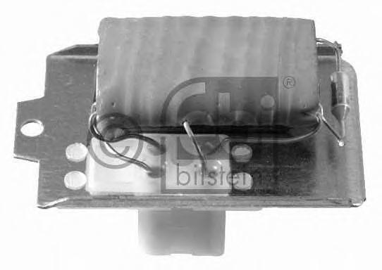 Резистор вентилятора отопителя FEBI 19024