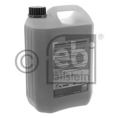 Антифриз G12+ фиолетовый концентрат -80°C 5л FEBI 19402