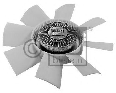 Вентилятор охлаждения двигателя FEBI 21047