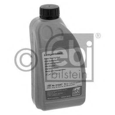 Масло гидравлическое 1л зеленое FEBI 21647