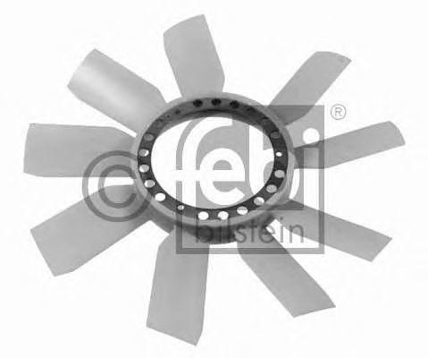 Крыльчатка вентилятора охлаждения двигателя FEBI 22781
