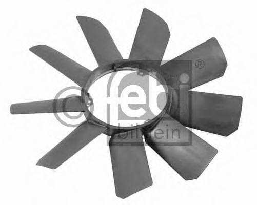Крыльчатка вентилятора охлаждения двигателя FEBI 22784