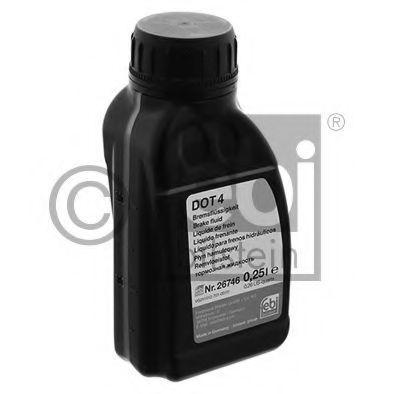 Тормозная жидкость DOT4 250мл FEBI 26746