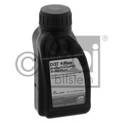 Тормозная жидкость DOT4 Plus 250мл FEBI 26748