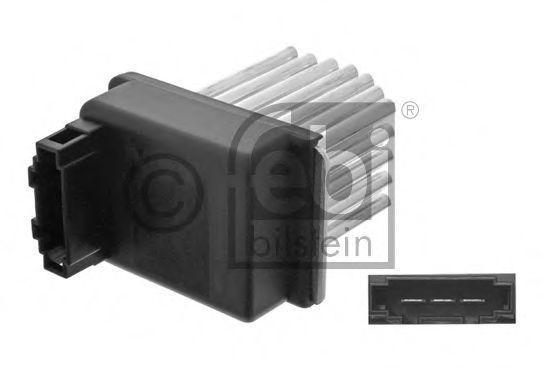 Резистор вентилятора отопителя FEBI 34793