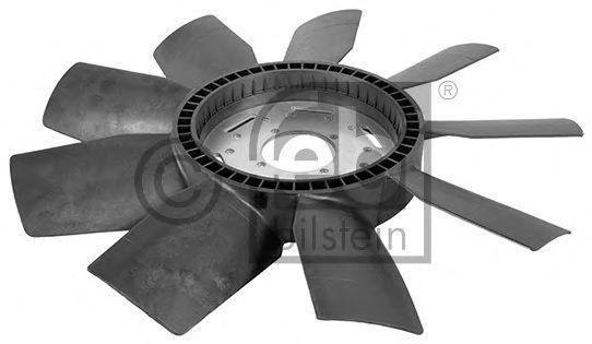 Крыльчатка вентилятора, охлаждение двигателя FEBI 38204