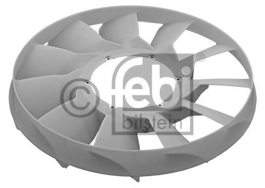 Крыльчатка вентилятора охлаждения двигателя FEBI 45476
