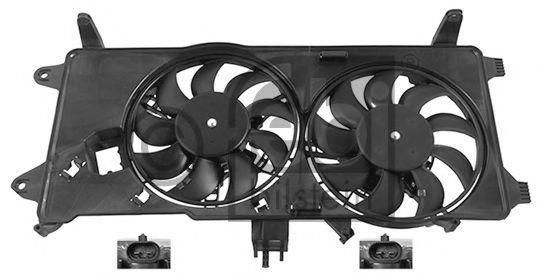Вентилятор охлаждения двигателя FEBI 45900