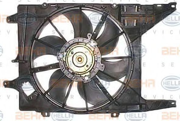 Вентилятор, охлаждение двигателя BEHR 8EW351032221