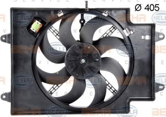 Вентилятор, охлаждение двигателя BEHR 8EW351039621