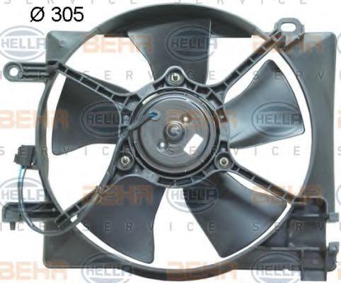 Вентилятор, охлаждение двигателя BEHR 8EW351041381