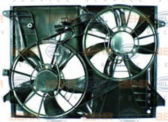 Вентилятор, охлаждение двигателя BEHR 8EW351041701