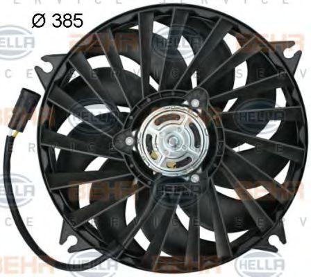 Вентилятор, охлаждение двигателя BEHR 8EW351043731