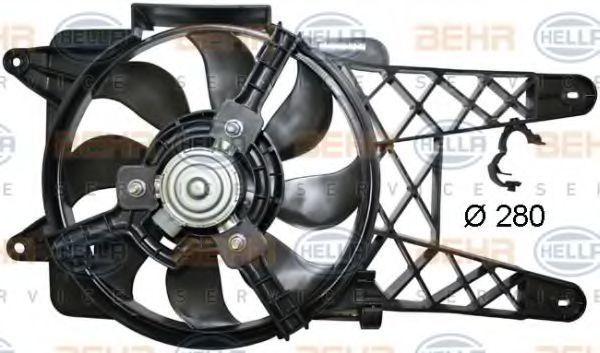 Вентилятор, охлаждение двигателя BEHR 8EW351044091