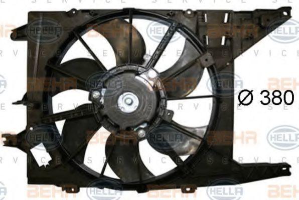 Вентилятор, охлаждение двигателя BEHR 8EW351044521