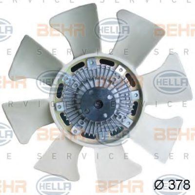 Вентилятор, охлаждение двигателя BEHR 8MV376734301