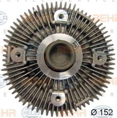 Сцепление, вентилятор радиатора BEHR 8MV376757651