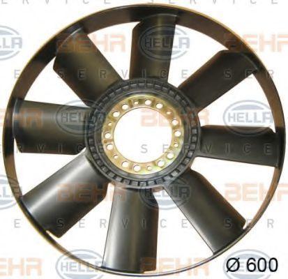 Крыльчатка вентилятора, охлаждение двигателя BEHR 8MV376757751