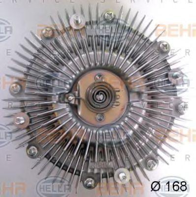 Сцепление, вентилятор радиатора BEHR 8MV376758621