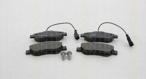 Комплект тормозных колодок, дисковый тормоз TRISCAN 811015052