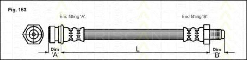 Тормозной шланг TRISCAN 815018103