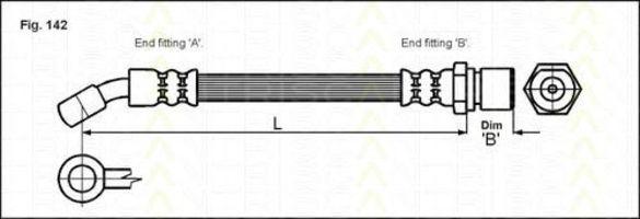 Тормозной шланг TRISCAN 815021102