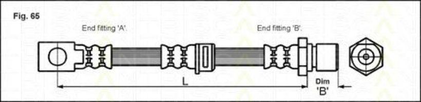 Тормозной шланг TRISCAN 815024128
