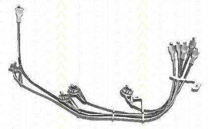 Комплект проводов зажигания TRISCAN 88603133