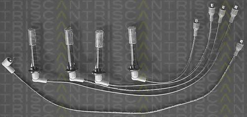 Комплект проводов зажигания TRISCAN 88603395