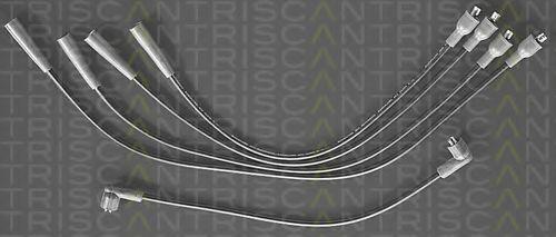 Комплект проводов зажигания TRISCAN 88604007