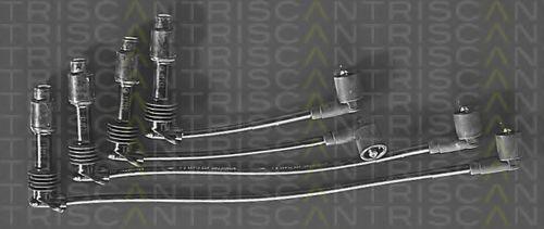 Комплект проводов зажигания TRISCAN 88605101