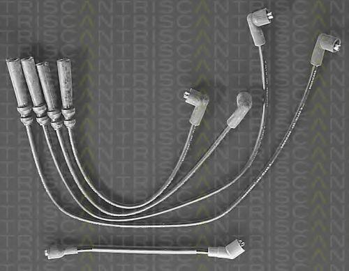 Комплект проводов зажигания TRISCAN 88606521